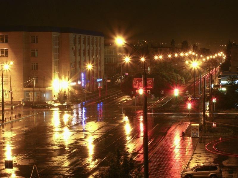 Ночное фото город Северодонецк