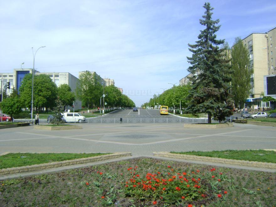 Бульвар Независимости город Бровары