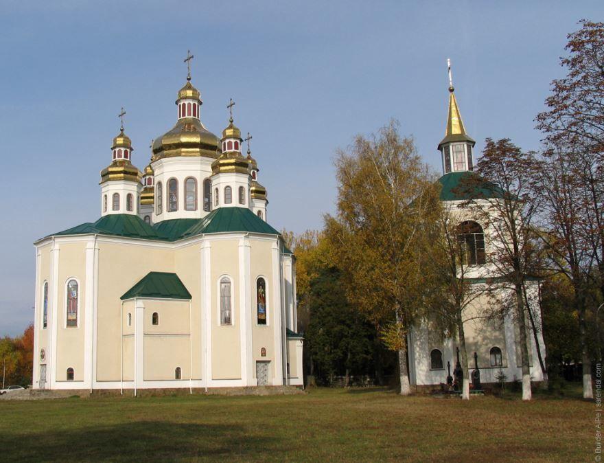 Церковь город Бровары