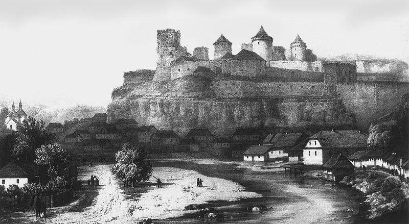 Старинное фото город Каменец Подольский
