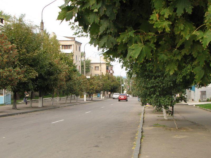 Улица города Лисичанск 2019 Украина