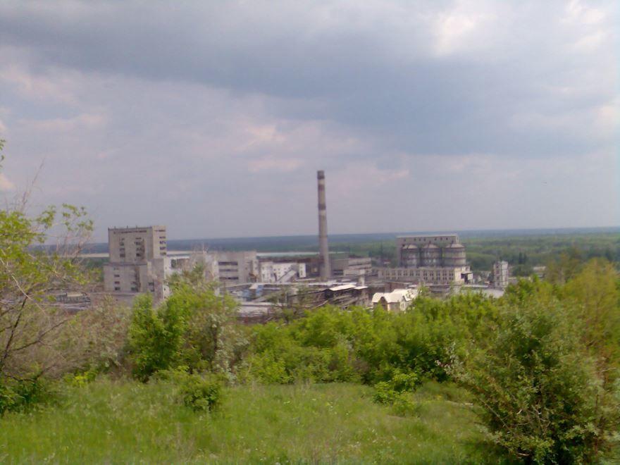 Содовый завод город Лисичанск