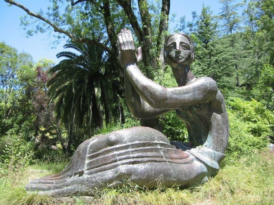 Скульптура город Гагры