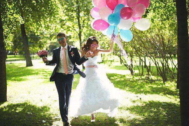 Свадьба лета, красивая фотография