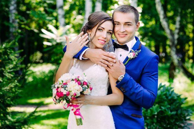 Свадьба в сонечный день