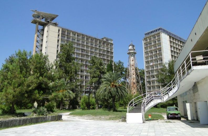 Курортный комплекс город Пицунда