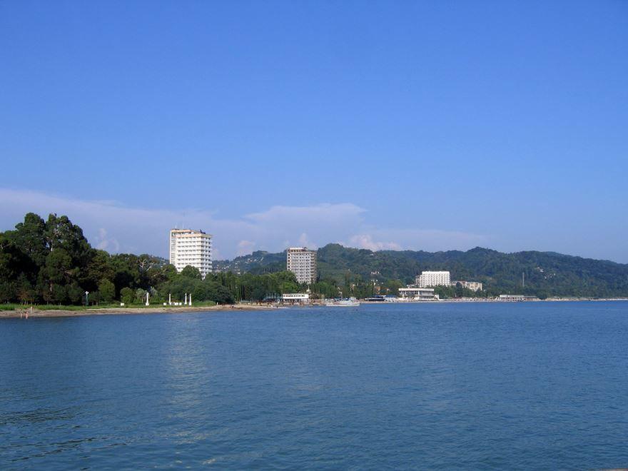 Вид на город Сухум