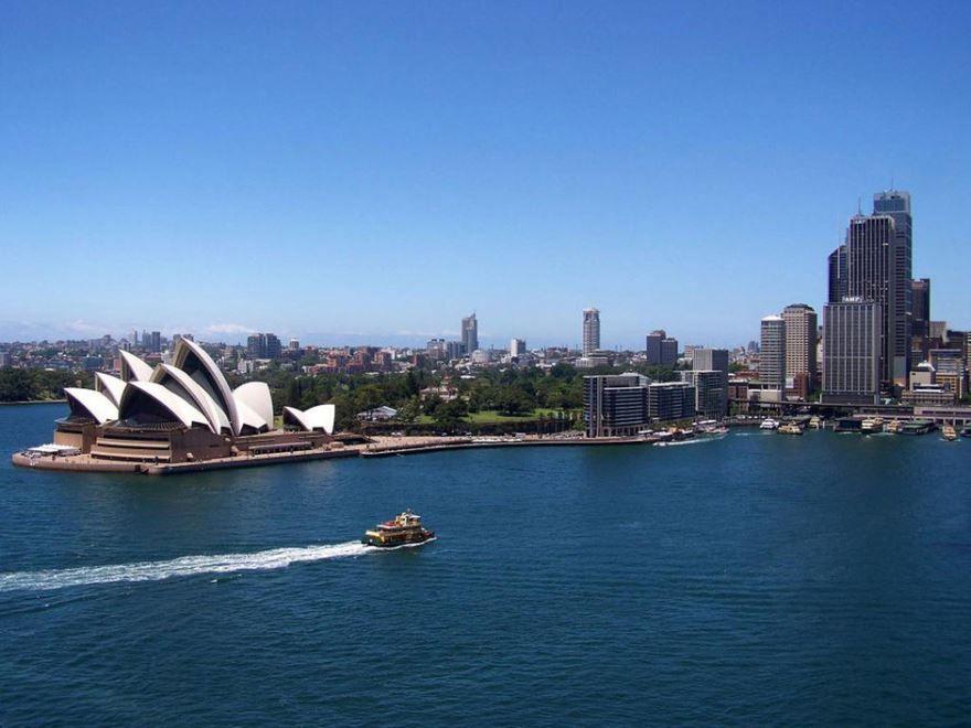 Вид на город Сидней 2019 Австралия