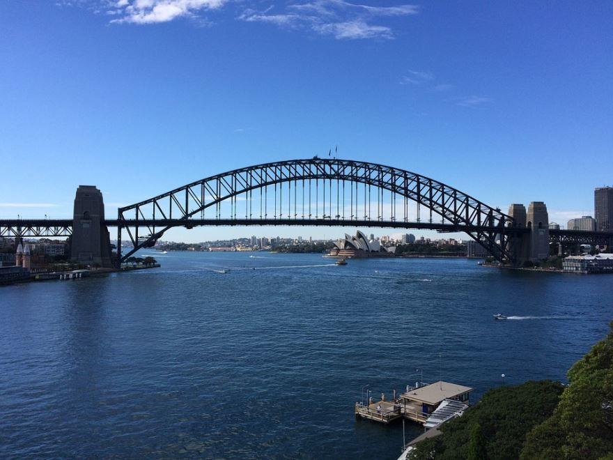 Мост город Сидней