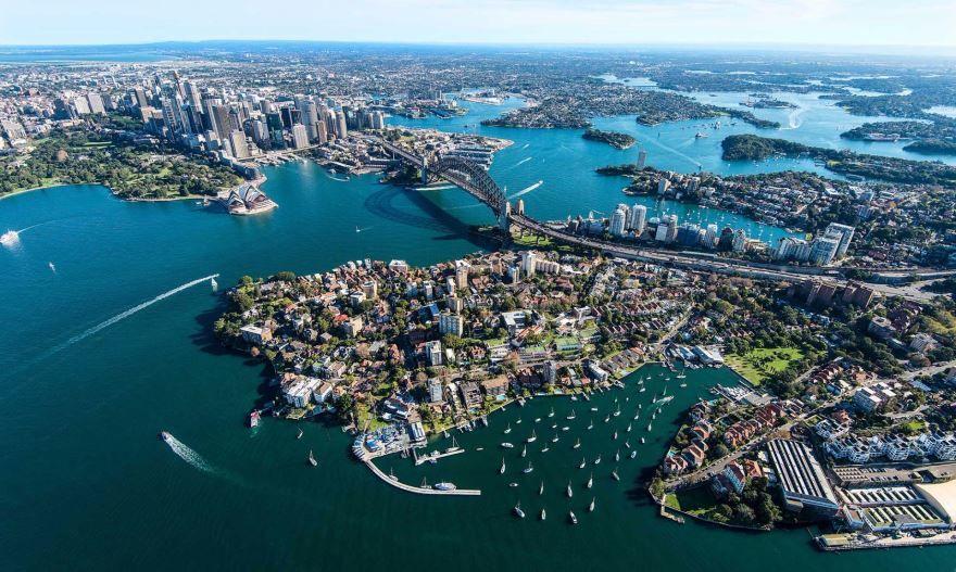 Панорама город Сидней