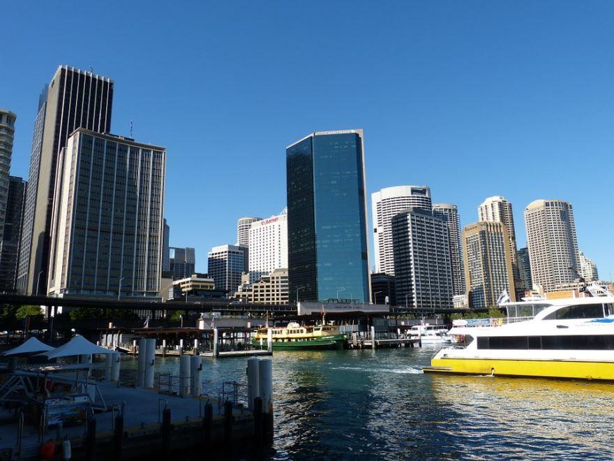 Порт город Сидней