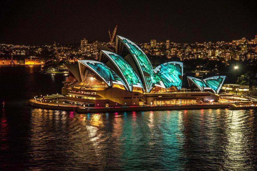 Сиднейская опера город Сидней