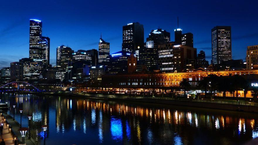 Фото город Мельбурн