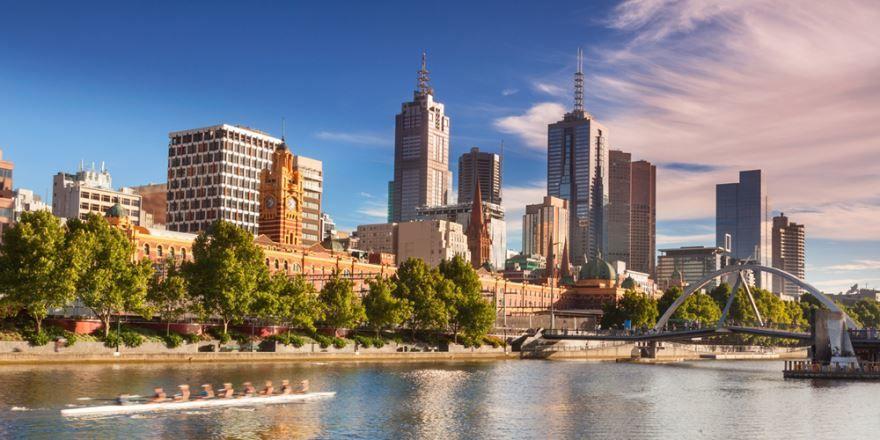 Смотреть красивое фото город Мельбурн 2019