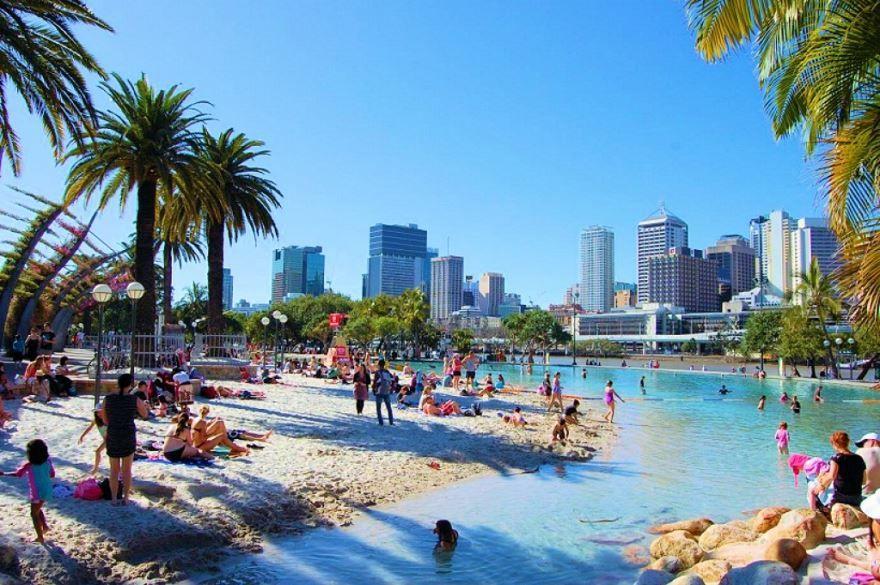 Скачать онлайн бесплатно лучшее фото города Брисбен в хорошем качестве