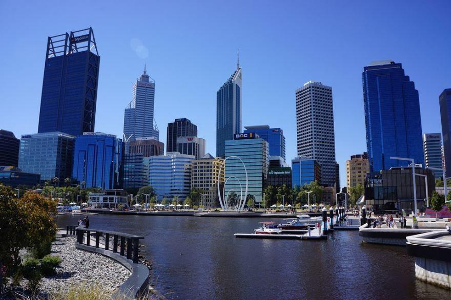 Смотреть красивое фото город Перт Австралия