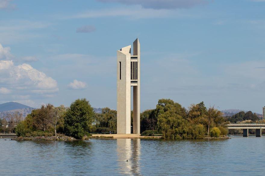 Национальный карильон город Канберра Австралия