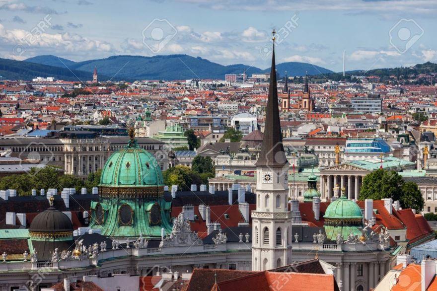 Вид на город Вена