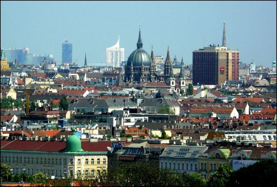 Красивое фото город Вена