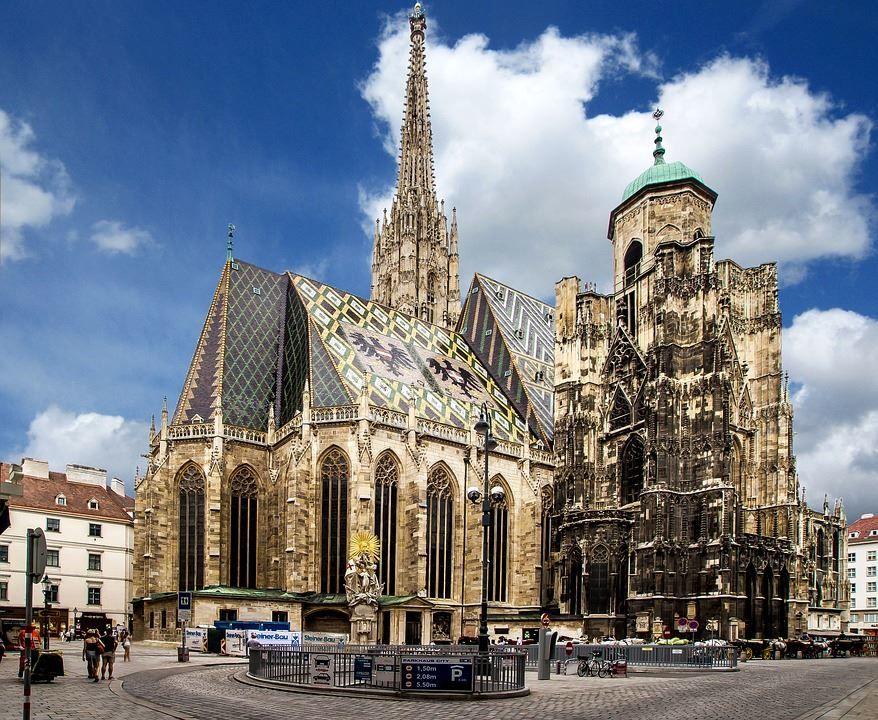 Собор Святого Стефана город Вена