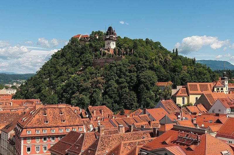 Вид на город Грац