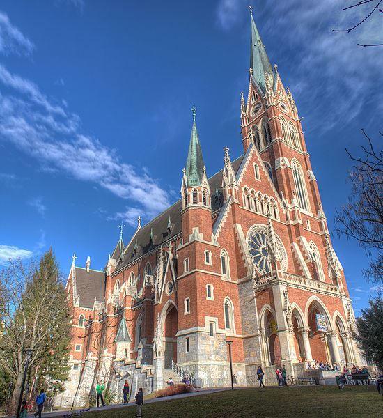 Церковь Сердца Иисуса город Грац