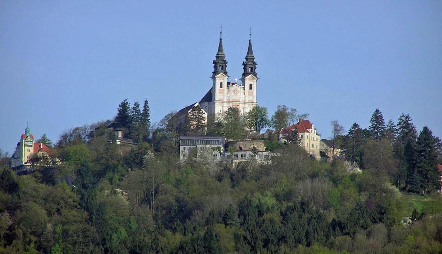 Вид на город Линц