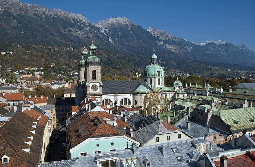 Фото города Инсбрук Австрия