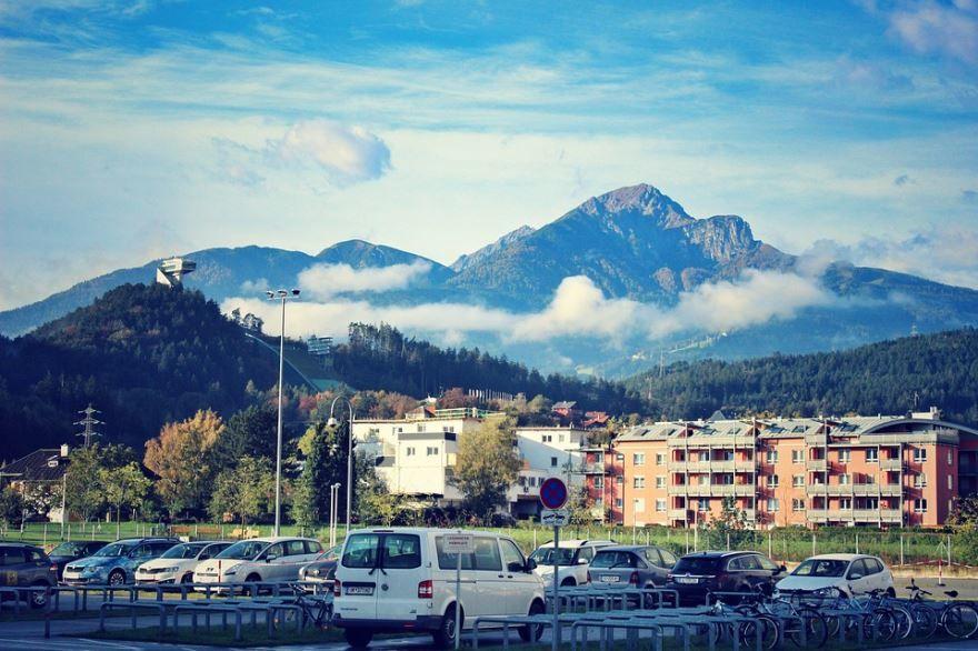 Фото город Инсбрук