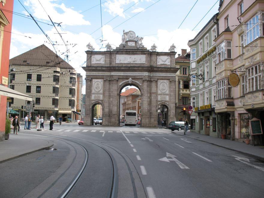 Скачать онлайн бесплатно лучшее фото города Инсбрук в хорошем качестве