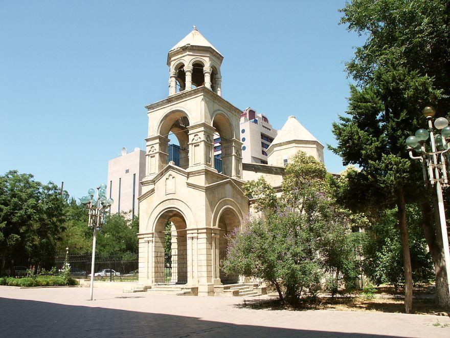 Армянская церковь город Баку