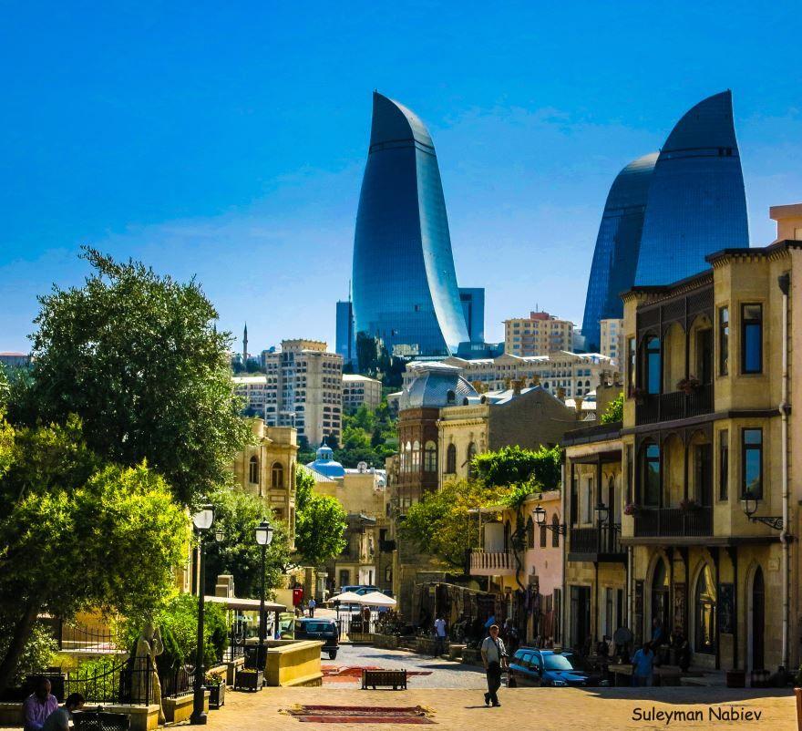 Старая часть города Баку