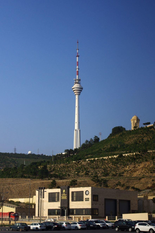 Телебашня город Баку