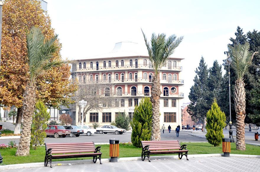 Улица город Гянджа