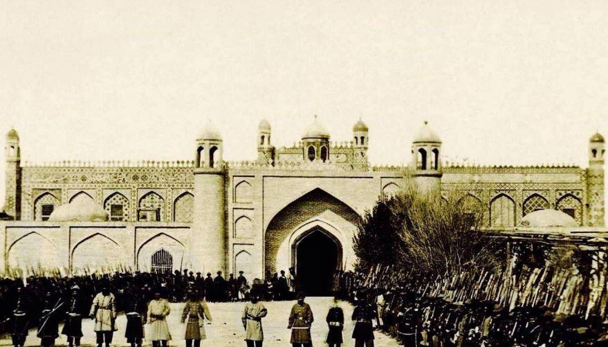 Ханский Дворец город Гянджа 19 века
