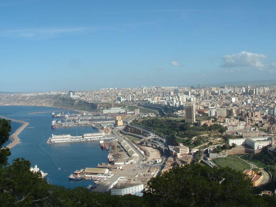 Панорама города Оран Алжир