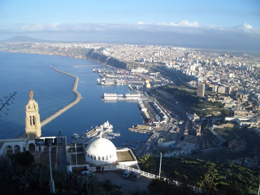 Красивое фото город Оран