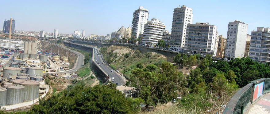Вид на город Оран