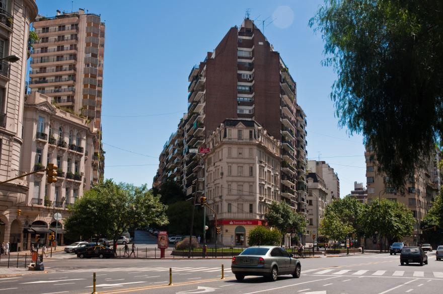 Улица города Буэнос Айрес