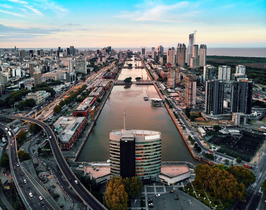 Панорама города Буэнос Айрес
