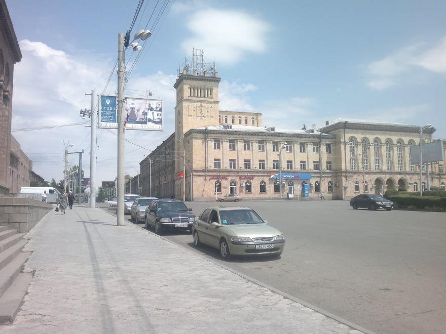 Улица города Гюмри