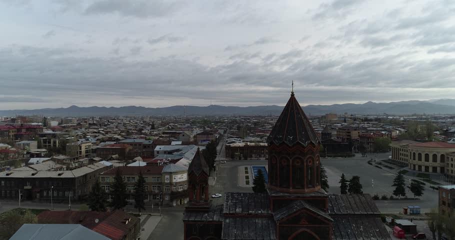 Панорама города Гюмри