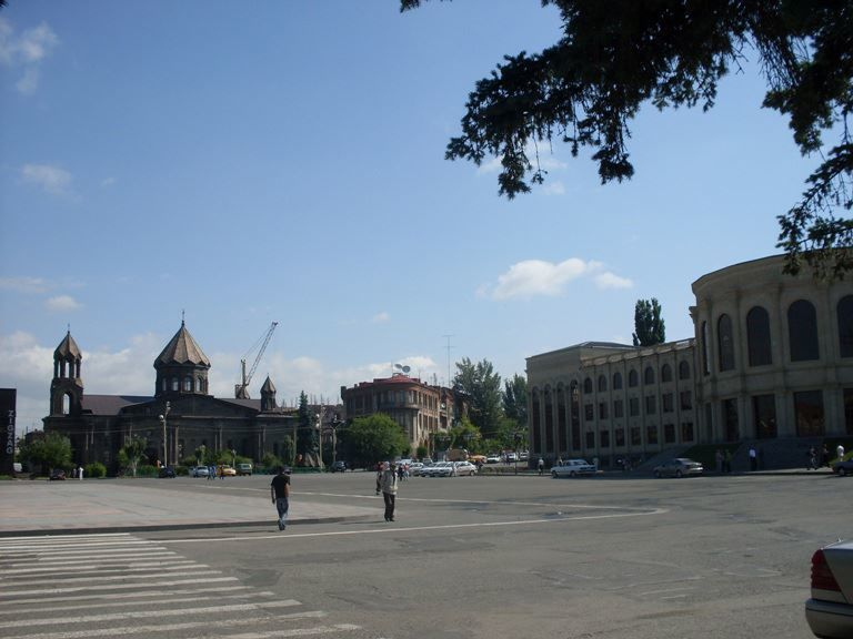 Фото города Гюмри Армения