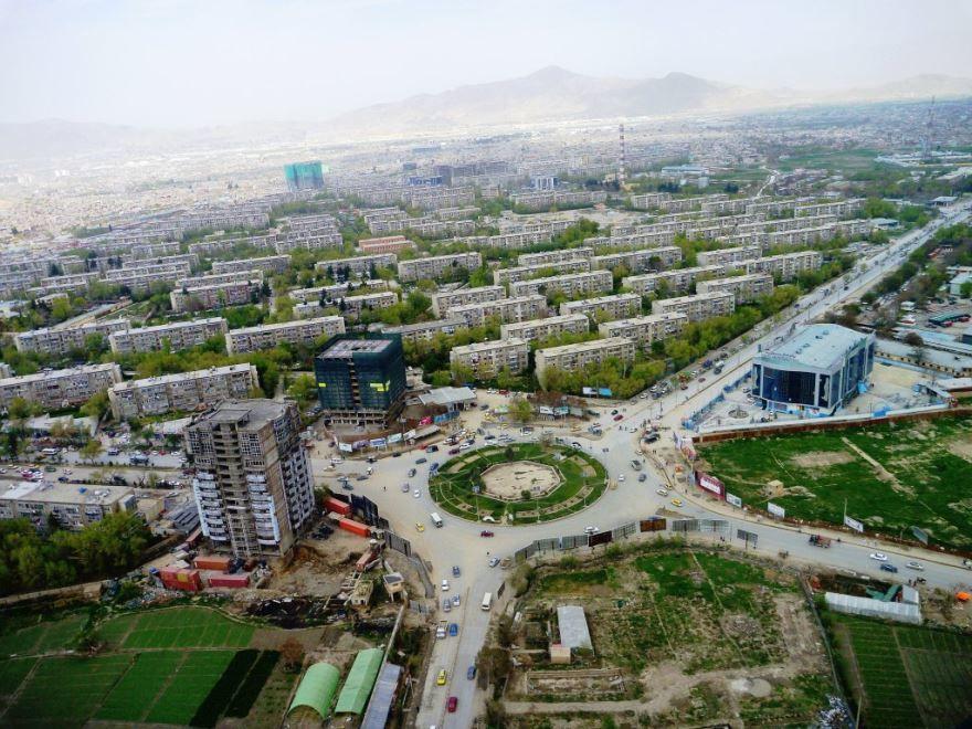 Панорама город Кабул 2019