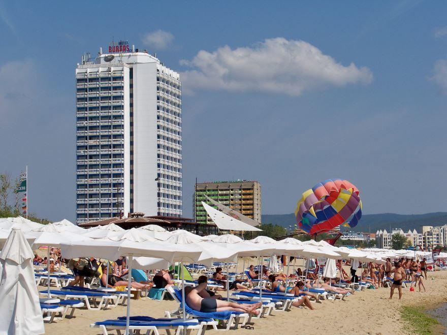 Пляж город Варна