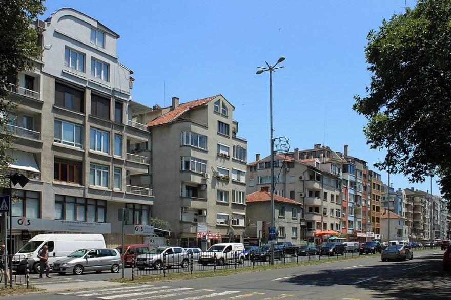 Смотреть красивое фото город Бургас