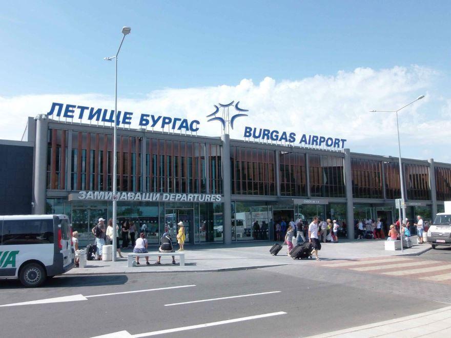 Аэропорт город Бургас