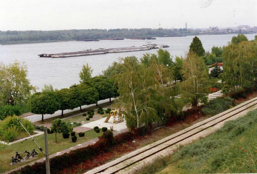 Вид на город Русе