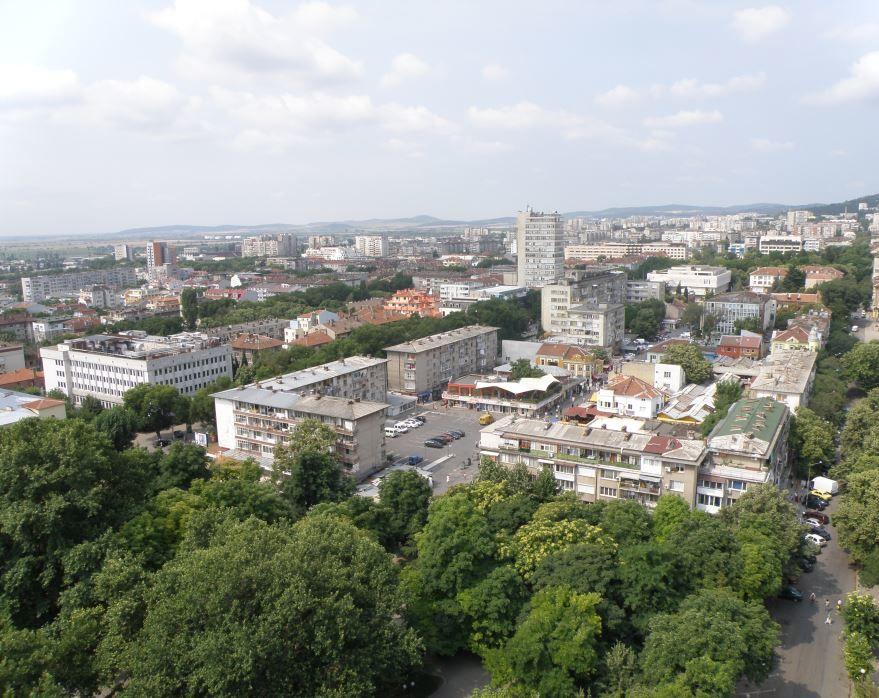 Вид на город Старая Загора Болгария