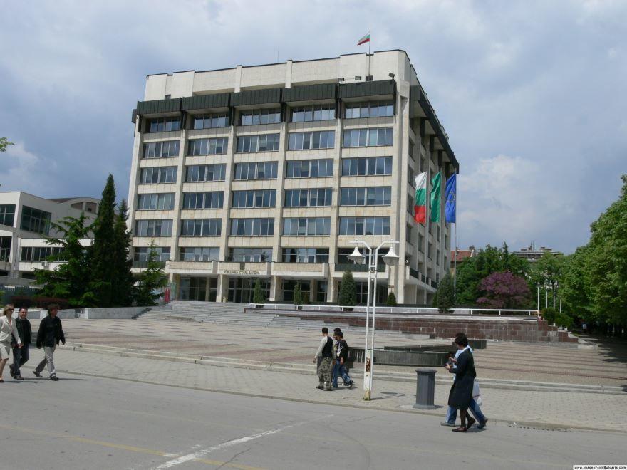 Улица города Старая Загора